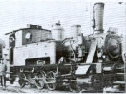 Trix make an excellent HO model of the Bavarian DXI 0-6-2T, of which 98477 poses with its crew at Thurnau in Deutsche Reichsbahn days as Class 98-4.